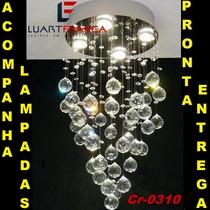 Lustre Cristal Asfour Legítimos Preço De Fábrica!