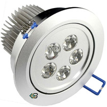 Kit Spot Super Led Direcionável Em Alumínio De Teto 5w
