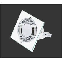 Luminária De Embutir Quadrada P/ 1 Lâmpada 14cm - 191q