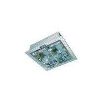 Luminaria Quadrada De Sobrepor E Embutir 2 Lampadas