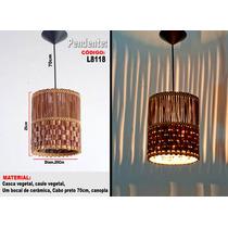 Luminárias Artesanais , Lustre Pendente L8118