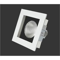 Spot De Embutir Quadrado Modular Móvel P/ Lamp. Par20