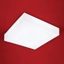 Plafon De Sobrepor Acrílico Leitoso (fabricação Própria)