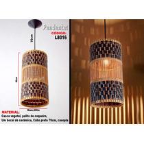 Luminárias Artesanais , Lustre Pendente L8016