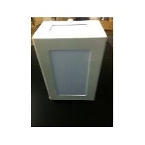 Arandela Retangular - Parade - Alumínio C/ Acrilico 9x13x20