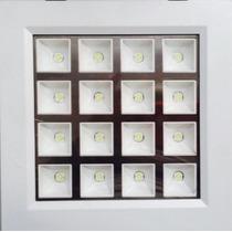 3 Painel Plafon Luminaria Embutir Led Spot Downlight 16w