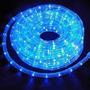 Mangueira Luminosa 2 Fios 50mts Azul 220v 13mm