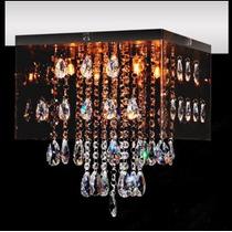 Plafon Cristal Quadrado 30x30 Para Sala - Luminária Quarto