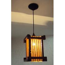 Lustre Estilo Oriental Japonês Luminária Pendente Teto