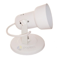 Spot Arandela Runas Branco P\ 1 Lâmpada Luminária Plafon