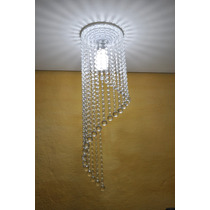 Lustre De Cristais De Acrilico Dolly