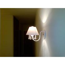 Arandela Luminária Com Cristais Lustre De Cristal