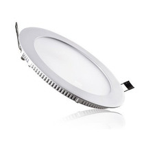 Painel Plafon Luminaria Redondo U Slimled 18w Kit 10 Unidade