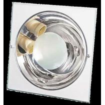 Luminária De Embutir Quadrada P/ 2 Lâmpadas - 24cm - 193q