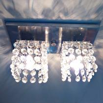 Lustres De Cristal Base Retangular/2