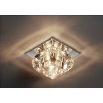 Spot Embutir Cristal Quadrado - Lustre Sala - Luminária