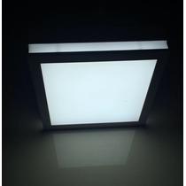 Painel Plafon Luminaria Sobrepor Teto Led Quadrado Spot 25w