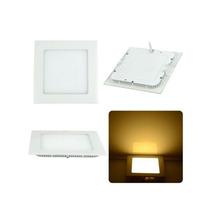 Painel Plafon Luminaria Led Quadrado 25w Kit Com 15 Unidades