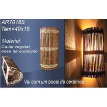 Luminária Artesanal - Arandela Rustica - Ar7018s