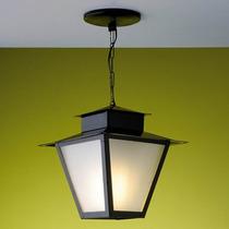Luminária Pendente Colonial Preta L7c Ideal Iluminação