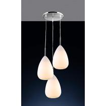 Luminária Pendente Llum Bronzearte Connect Egg 3 Luzes E27