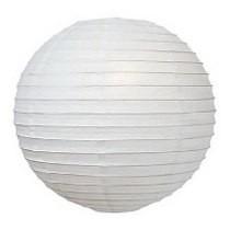 Lanterna Japonesa Papel Branco 40cm C/10 Unidades