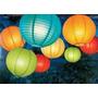 3 Luminárias Tecido 40cm Chinesa Japonesa Decoração Festa