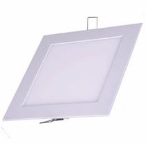 Kit 7 Plafon Luminaria Embutir Painel Teto Led 25 W 30x30