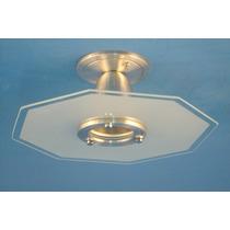 Lustre Vidro - Plafon P/ Quarto, Sala, Cozinha Ou Banheiro