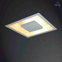 Plafon Embutir De Iluminação Indireta 38x38cm - Soquete E27