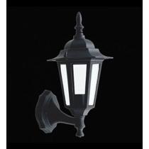 Lanterna Colonial Com Braço Preto E27