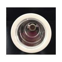 Conjunto 10luminária Embutir Redonda 1 Lâmpada E-27 Alumínio