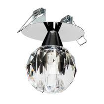 Spot Embutir Cristal Bola - 1l Halopin Soq.gu9 - Max 40w