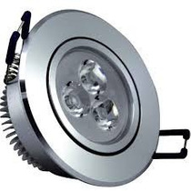 Kit10 Spot Led P/ Embutir De 3w Plafon Lâmpada Iluminação