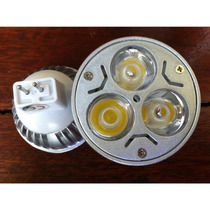Lampada Dicroica De Led Spot Mr16 3w Branco Quente C/soquete