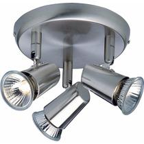 Luminaria De Teto Spot De Sobrepor 3 Luzes Direcionável Llum