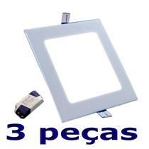 Spot Iluminação Led 6w Embutir Branco Quente (3500k) Lâmpada