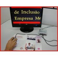 Lupa Eletrônica Tipo Mouse Para Uso Em Tv - Baixa Visão