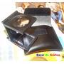 Conta-fios Lupa 10x Em Metal Com Escala + Bolsa Em Couro