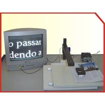 Lupa Eletronica Baixa Visão Bandeja Xy 2 Em 1