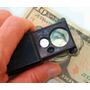 Mini Lupa 30x 60x C/ Led C/ Ultravioleta Profissional