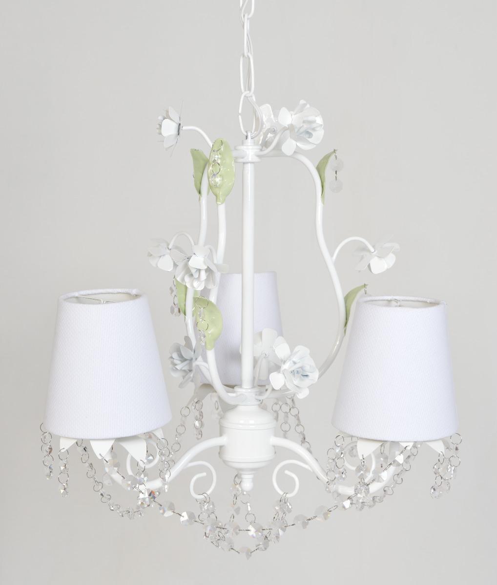 Luminaria Quarto Bebe Mercadolivre ~   Cristal Pendente Flor Menina Beb?  R$ 399,80 no MercadoLivre