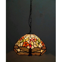 Lustre Pendente Tiffany Importado Libelula ( 12124 )