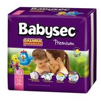 Caixa - Babysec Premium Galinha Pintadinha - Tam: Xxg 48 Un