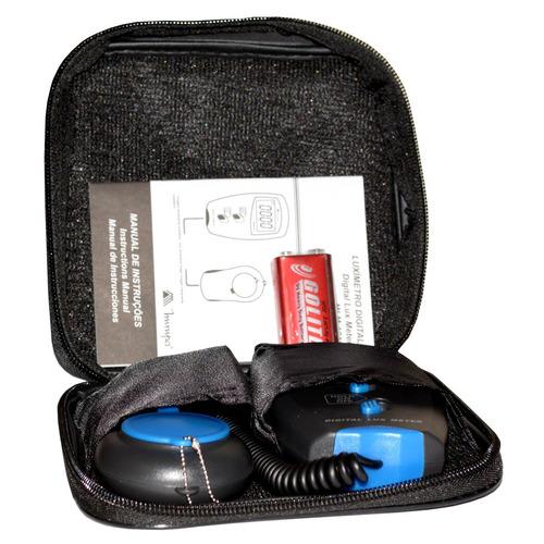 Luximetro Digital Medidor De Luminosidade Mlm 1011 Minipa