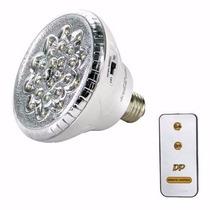 Lampada Emergência Led Recarregável 22 E27 Controle Remoto