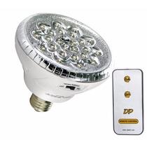 Lampada Luminária Luz Emergência 24 Led Com Controle Remoto