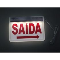 Placa De Saída Led - Autônoma - 110v Ou 220v - 12x Sem Juros