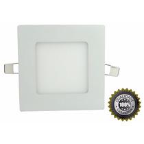 Luminária Led Plafon 6w Embutir Teto Gesso Painel Quadrado