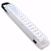 Lâmpada Luminária Luz Emergência Recarregável 42 Led Bivolt